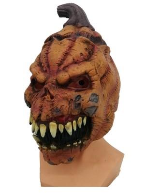 Halloween Latex Horrible Pumpkin Mask