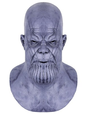Halloween Latex Mask Avengers Endgame Thanos Cosplay Mask