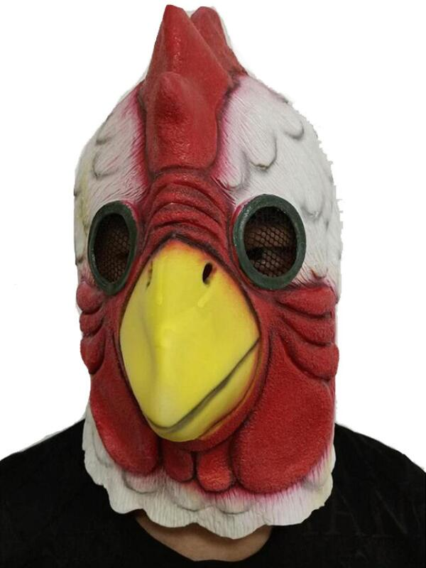 Halloween Hotline Miami Chicken Cosplay Mask