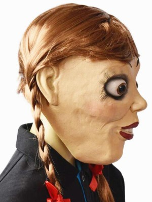 Halloween Annabelle 3 Latex Cosplay Mask