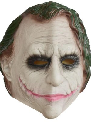 Halloween Batman joker Latex Cosplay Mask