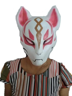 Fortnite fox Mask Halloween Latex Mask