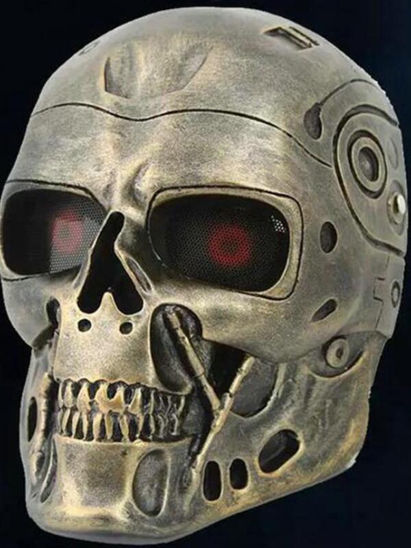 Movie DC-10 Terminator Mask Halloween Resin Mask