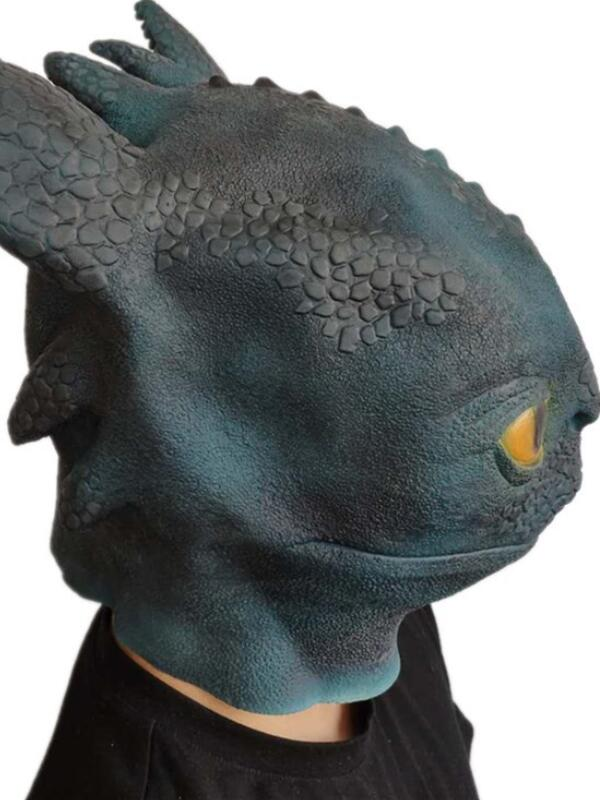 How to Train Your Dragon 3: The Hidden World Mask Halloween Latex Mask
