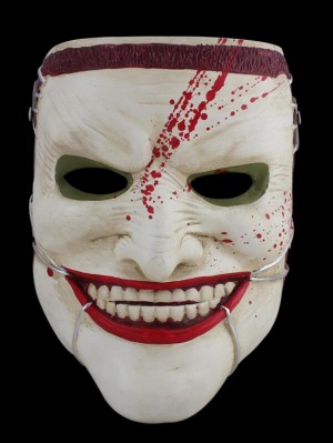 Terror Halloween Resin Mask