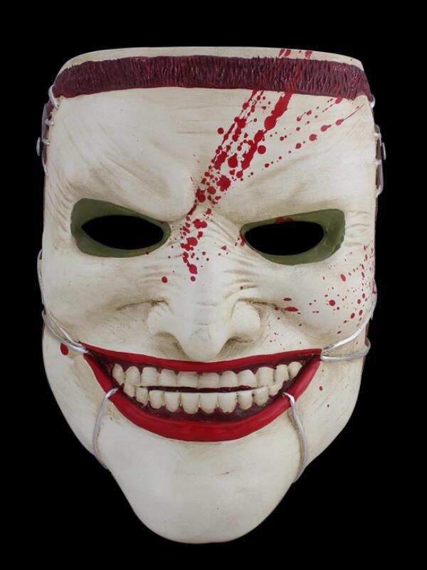 Terror Halloween Resin Mask