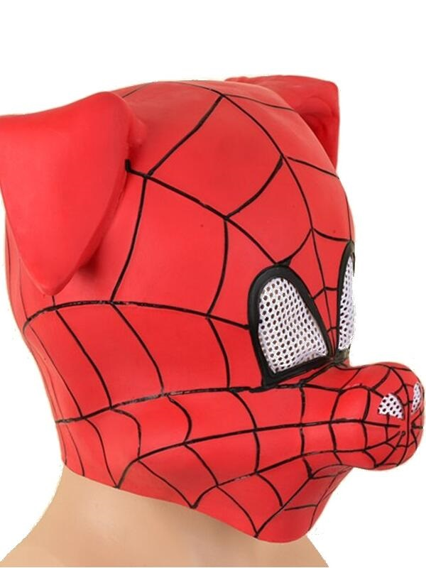 Spider-Man Into the Spider-Verse Spider-Ham Mask Halloween Latex Mask