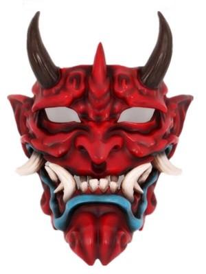 Demon Fangs Mask Halloween Resin Mask