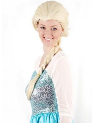 Frozen Elsa Cosplay Wig Anime Cosplay Braid Wig