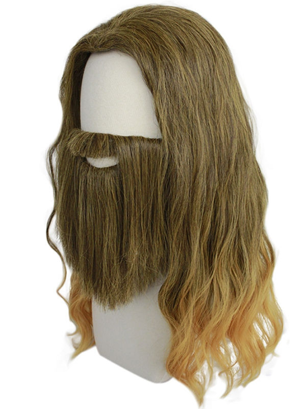Avengers 4  Decadent Thor Cosplay Wig